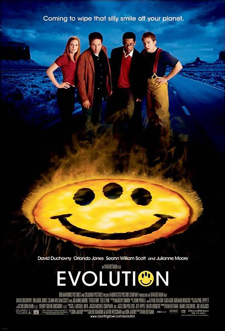 Poster del film Evolution