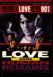 Love &amp; Human Remains Poster