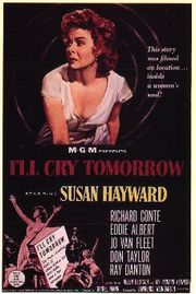 I&#039;ll Cry Tomorrow Poster