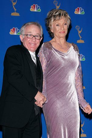 Leslie Jordan and Cloris Leachman