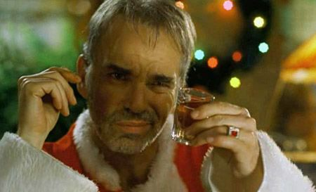 Bad Santa Drinking Movie