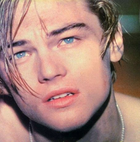 leonardo dicaprio young shirtless. stain, Leonardo