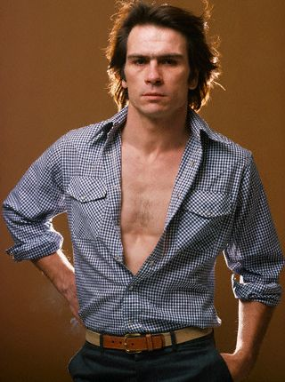 young tommy lee jones two face Young Tommy Lee Jones