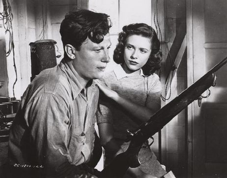 Harold Russell & Cathy O'Donnell in The Best Years of Our Lives