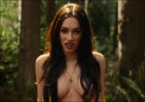 megan fox hair up. Topless Megan Fox In