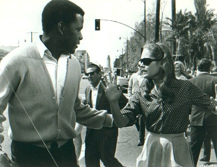 Sidney Poitier & Elizabeth Hartman in A Patch of Blue