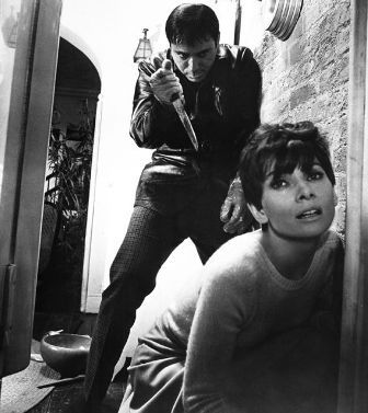 Alan Arkin &amp; Audrey Hepburn in Wait Until Dark
