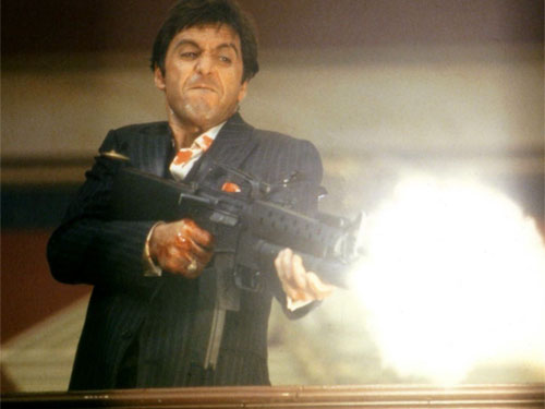 Al Pacino as Tony Montana