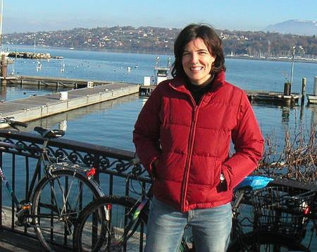 Just me by Lake Geneva