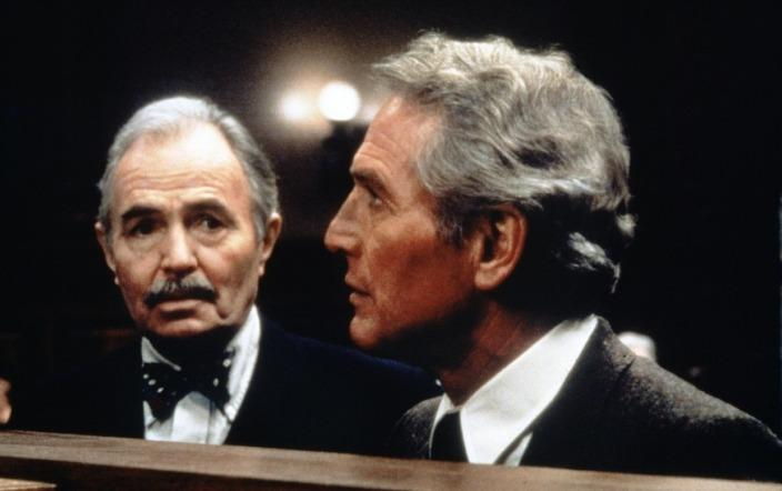 James Mason &amp; Paul Newman in The Verdict