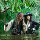Johnny Depp and Penelope Cruz in Pirates Of The Carribean:On Stranger Tides
