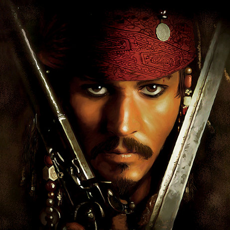My fictional hero....JACK SPARROW!