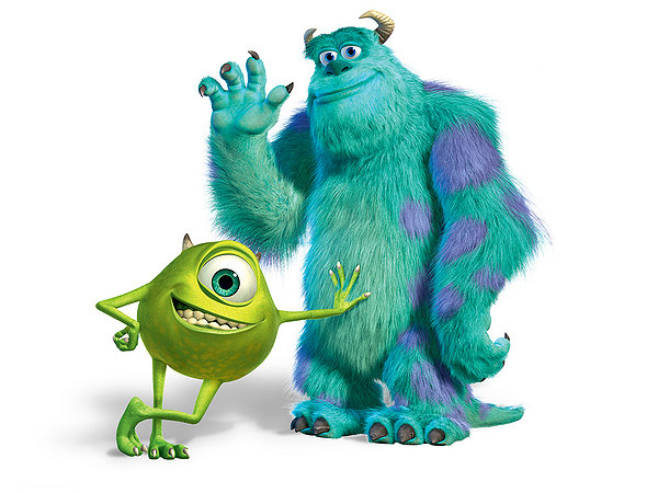 Mike and Sully!