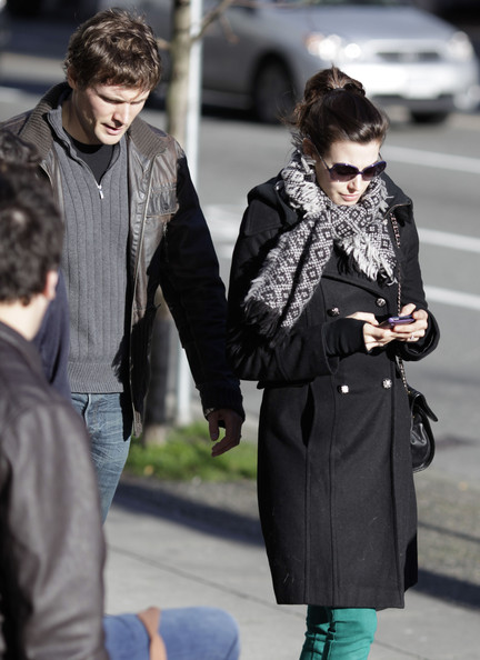John Reardon and Meghan Ory