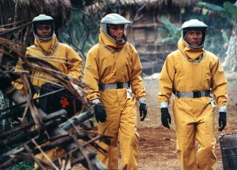 Cuba Gooding Jr., Kevin Spacey, Dustin Hoffman - OUTBREAK