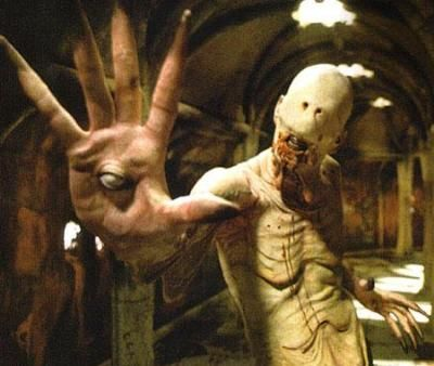 The Pale Man from'Pan's Labyrinth' Posted by BiologyBabe2012