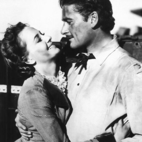 Olivia de Havilland and Errol Flynn