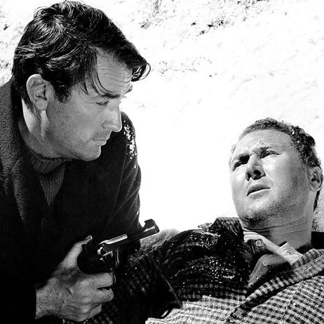 Gregory Peck and Anthony Quayle