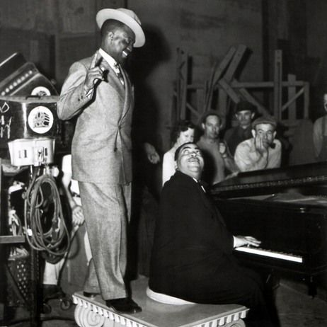 "Bill ""Bojangles"" Robinson and Fats Waller"