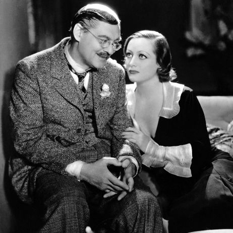 Joan Crawford and Lionel Barrymore