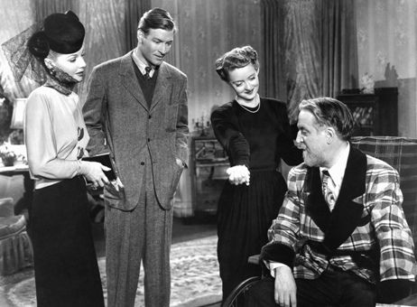 Ann Sheridan, Richard Travis, Bette Davis and Monty Woolley